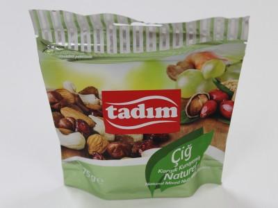 泰迪蜜Tadim天然混合坚果75g袋装零食欧洲篮球联赛赞助商干果促销