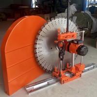 湖北荆州墙壁滑道切割机 钢筋混凝土工程开墙机新型安全